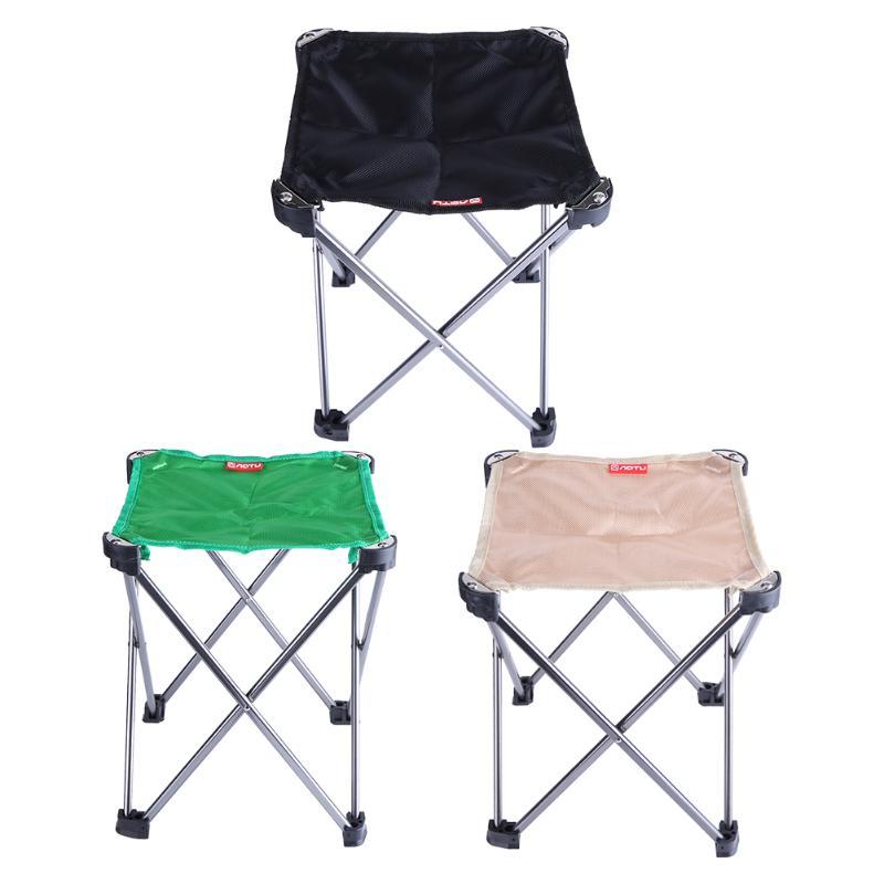 Nouveau Portable Pliant Tabouret De Pêche Chaise Siège Pour Camping En Plein Air Chaise Festival Plage Avec Sac Léger De Pêche Tackle Outil
