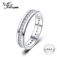 Classic Band Wedding Ring 925 Sterling Silver Fshion Jewelry For Women Fine Jewelry And Best Gift