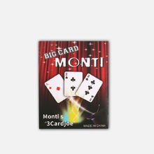 Ultimate 3 Card Monti Bicycle Cards Top Quality magic tricks