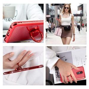 Image 5 - Glitter Diamond Case For XiaoMi Mi A2 lite RedMi Note 7 8 Pro 7s 6 6A 6 PRO 5 Plus Note 5 Pro K20 Magnetic Finger 360 Ring Cover