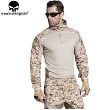 Уровня gen2 БДУ EMERSONGEAR airsoft боевой тактический костюм рубашка брюки с локоть наколенники военные Охота одежда AOR1 EM6914