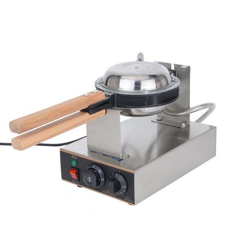 цена Best professional electric Chinese Hong Kong eggettes puff waffle iron maker machine bubble egg cake oven 220V/110V