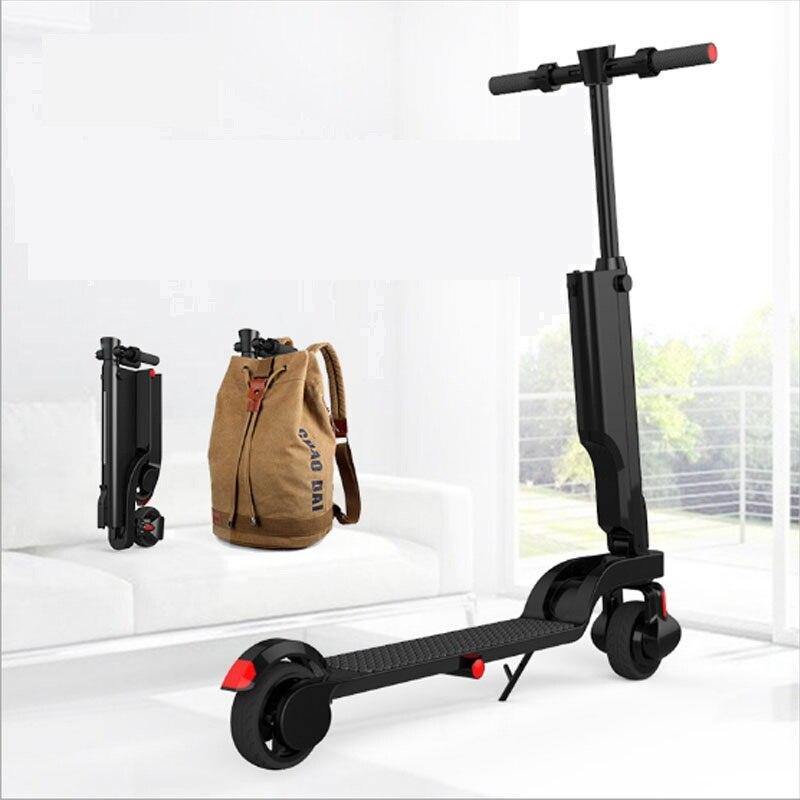 HX Fois Électrique Scooter Auto Équilibre Hoverboard Escooter Ebike Skywalker Monocycle 250 W 25 KM Longues Planches Adulte SmartSkateboard