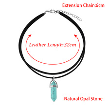 1 Pcs Fashion Women Jewelry Necklace Pu Leather Necklace Party Gift New