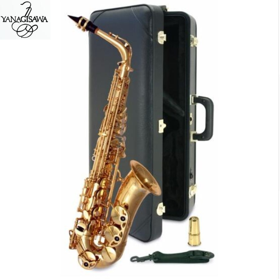 Cooperative Japanese Yanagizawa A-992 New Saxophone E Flat Alto High Quality Alto Saxophone Super Professional Musical Instruments Gigt Free 100% Original