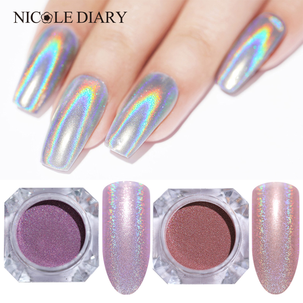 Schönheit & Gesundheit Geboren Ziemlich Spiegel Perle Pulver Shimmer Nagel Glitter Mermaid Glitter Pigment Make-up Pulver Nail Art Staub Glitter Pailletten Feines Handwerk Nails Art & Werkzeuge