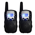 Portable radio walkie talkie t-388 mobile cb UHF radios VOX hands free PMR446 8 channel 99 private code w/flashlight batteries