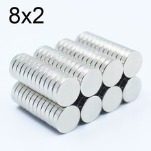 20/50/100/200/500Pcs 8x2 Neodymium Magnet 8mm x 2mm N35 NdFeB Round Super Powerful Strong Permanent Magnetic imanes Disc