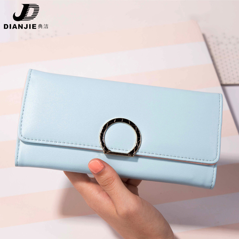 New leather wallet women luxury brand coin purse bag female clutch bag Handbags dollar price long wallets carteira 2017 new brand pu leather women long wallets solid clutch coin purse dollar price card holders vintage carteira feminina a1656