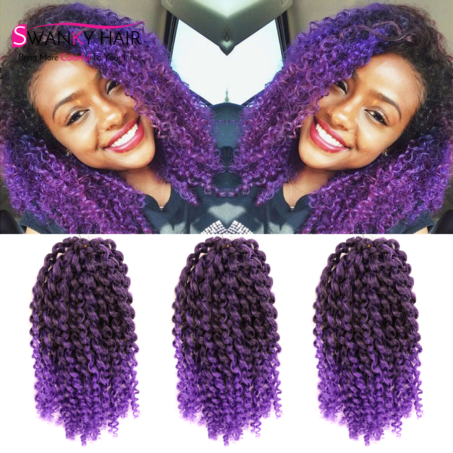 3pcs Lot Marlybob Curly Crochet Hair Extensions 8 Afro