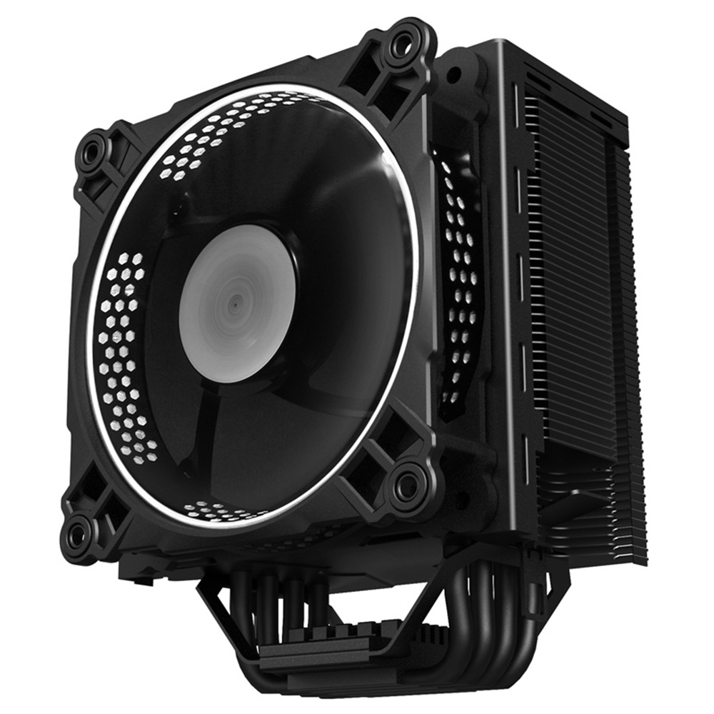 1 Piece Jonsbo CR 201 CPU Cooler Radiator with Computer 120mm LED Fan 4 Heat Pipe