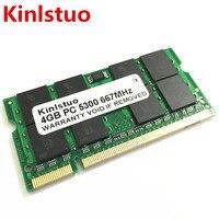 Brand New Sodimm DDR2 667Mhz 800Mhz 4GB For Laptop RAM Memory Lifetime Warranty Free Shipping