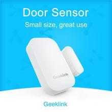 Geeklink умный дом автоматизации дверная Аварийная сигнализация сенсор открытие окна магнит Android IOS APP Wi Fi Беспроводной удаленного Controllor