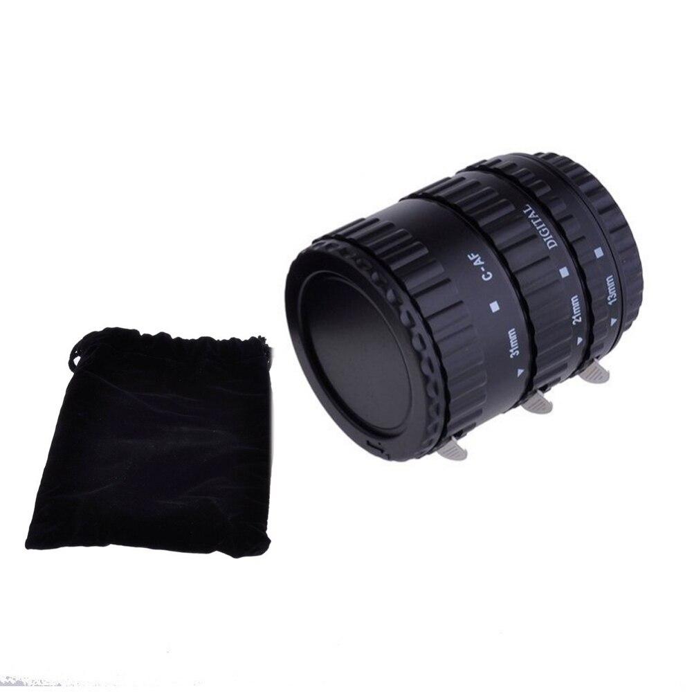 Meike Autofocus AF D'extension Macro Anneau de Tube pour Canon EOS 1300D 800D 760D 750D 700D 650D 200D 77D 80D 60D 5Ds 7D 6D Caméra len - 4