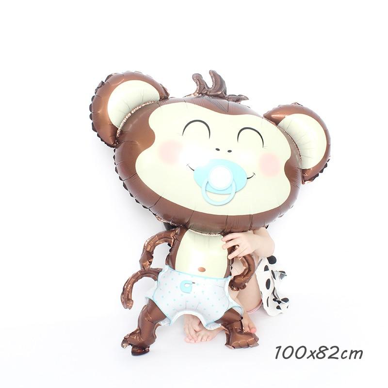大号蓝色奶嘴猴L BL NIPPLE monkey