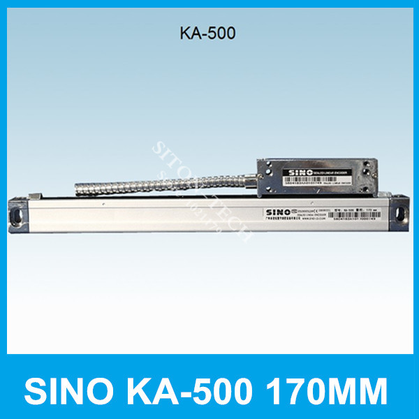 Free shipping SINO KA-500 170mm 5um linear scaling  KA500 0.005mm 170mm encoder products for Spark machine CNC lathe