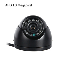 AHD 1.3MP 1/3 CCD Truck Mini Camera IR Night Vision 3.6mm AV/BNC/Aviation Interface Cam for Vehicle Surveillance Security