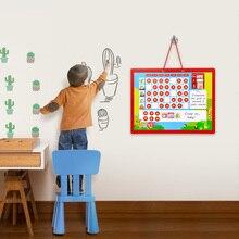 Magnetik Menggambar Menggantung Kalender