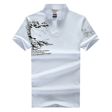 2017 summer men s new stylish men s Slim short sleeved t shirt Large size Summer