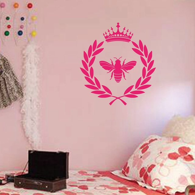 French Style Napoleonic Bee Vinyl Wall Sticker for Living room ...