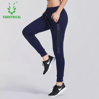 Women Running Sports Pants Jogging Gym Fitness Yoga Pants Autumn Winter Sweatpants With Pocket Training Trousers Sportswear