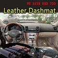 Для Subaru Outback Legacy B4 2003 2004 2005 2006 2007 2008 2009 кожаный Dashmat крышка приборной панели Dash коврик для автомобиля Стайлинг