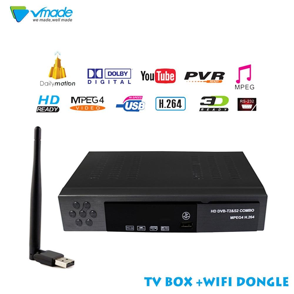 Satellite font b Receiver b font HD Digital DVB T2 DVB S2 font b TV b