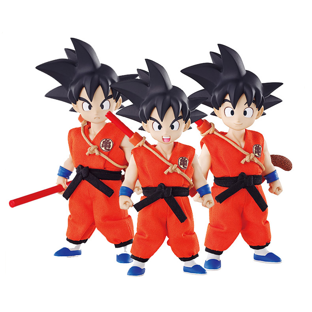 Megahouse Anime DOD Dragon Ball Z Goku Childhood PVC Action Figure Toy Juguetes Dragonball Figures Christmas Gift for Kids Toys 48pcs lot action figures toy stikeez sucker kids silicon toys minifigures capsule children gift