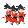 Megahouse Anime DOD Dragon Ball Z Goku Childhood PVC Action Figure Toy Juguetes Dragonball Figures Christmas Gift for Kids Toys