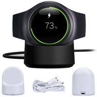 Wireless Charging Dock Cradle Charger For Samsung Gear S2 720 730 732 Classic Wtih USB Charging