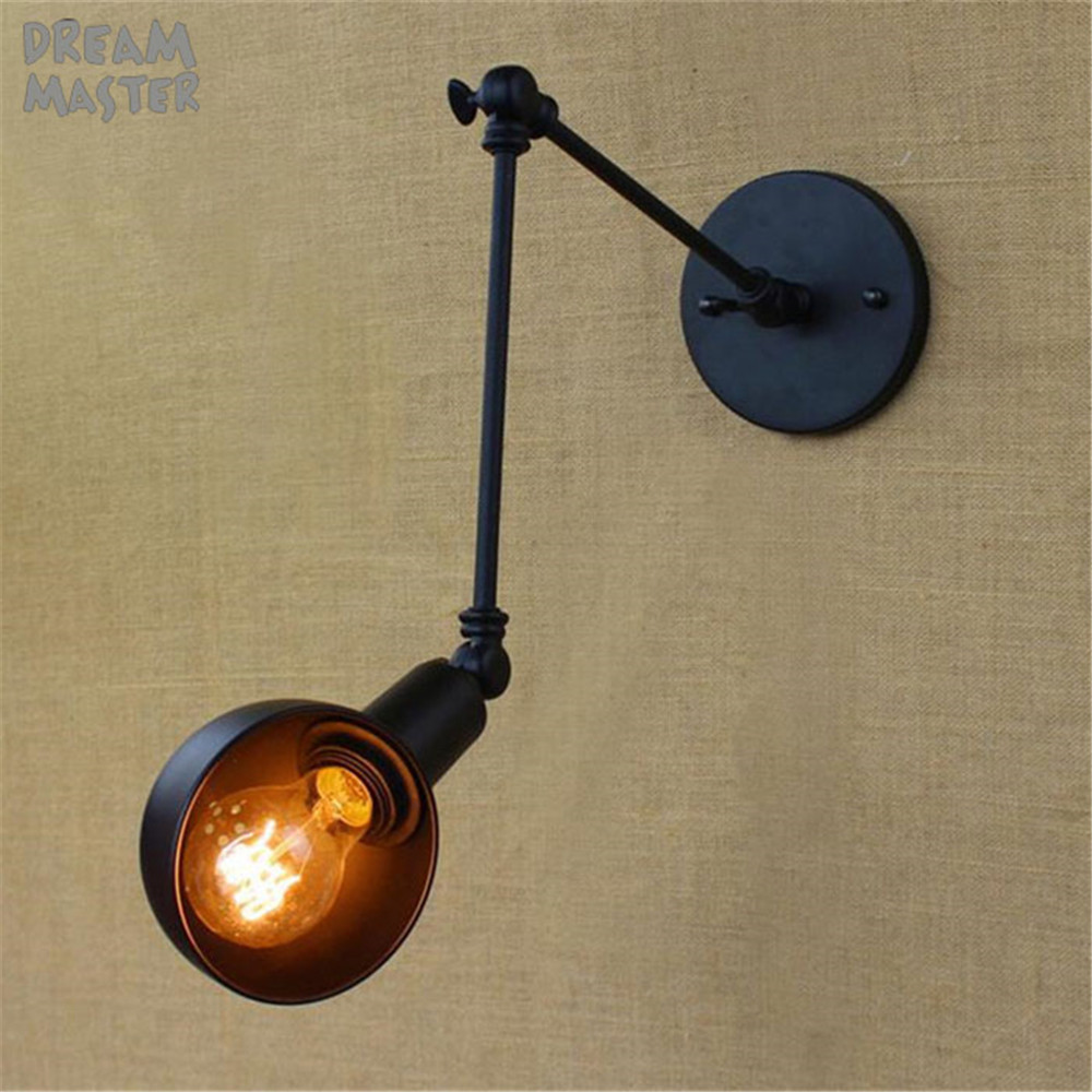Loft Industrial brazo de oscilación largo ajustable Lámpara de - Iluminación interior - foto 4