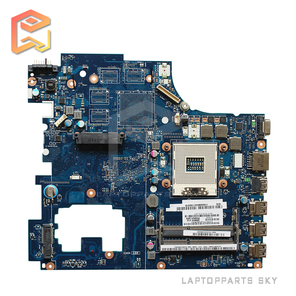 все цены на  For Lenovo G770 Y770 laptop motherboard PIWG4 LA-6758P HM65 DDR3 PGA989 mainboard 100% working  онлайн