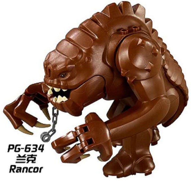 PG634 Building Blocks Super Heroes Star Wars Legacy Collection Jabba's Rancor Smaug Best Collection Model For Children Gift Toys pg1164 super heroes skeleton skull alien one eyed halloween cyclops omino snake undead building blocks collection children toys