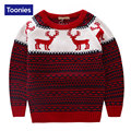 Children Sweater 2016 Winter Knitted Pullover for Boys Cute Deer Christmas Sweater Boys Warm Tops Fashion New Year Kids Clothing