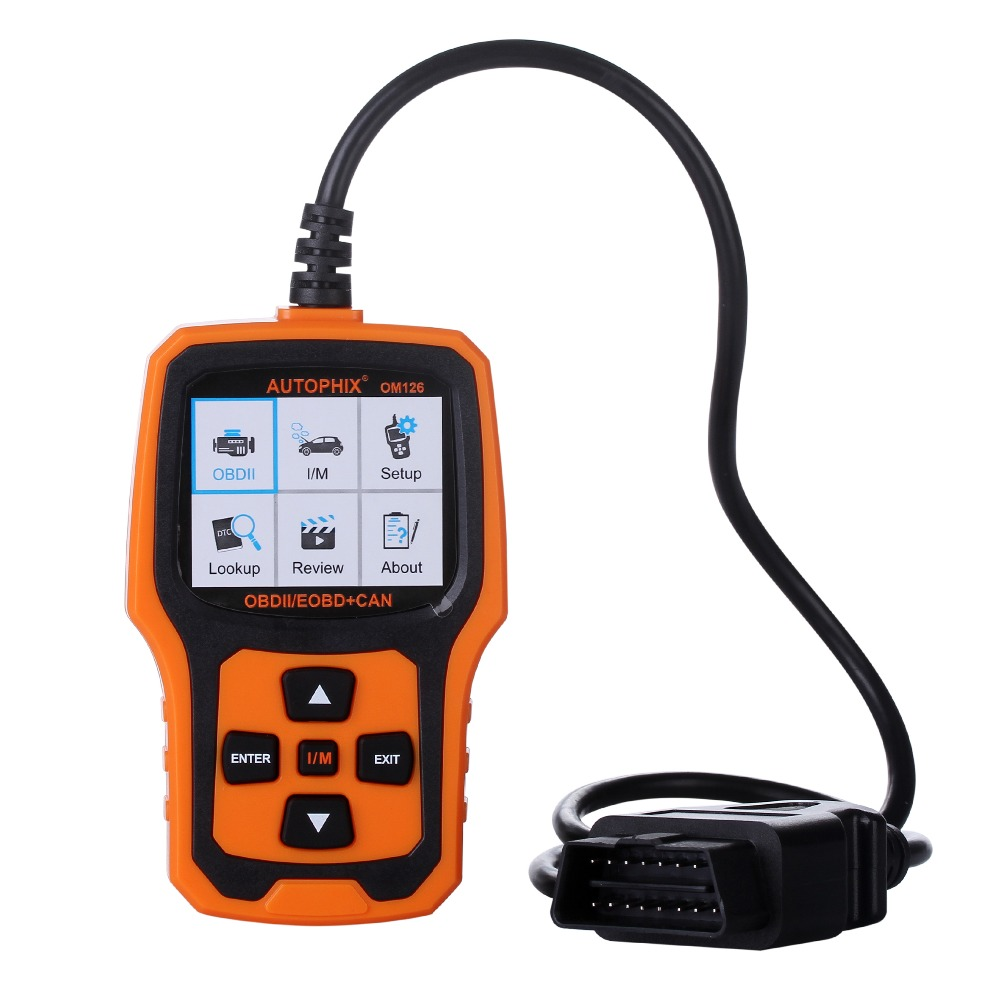 OBD2 Automotive Scanner Autophix OM126 Auto Code Reader Scanner OBDII Engine Scanner Fault Code Reader Auto OBD2 Diagnostic Too launch x431 obd2 automotive diagnostic scanner obd2 bluetooth adpater mdiag elm327 update online enhanced code reader