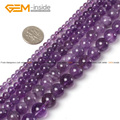 Natural Round Light Purple Amethyst Agate Beads For Jewelry Making 5-14mm 15inches DIY FreeShipping Wholesale Gem-inside