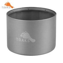 Титановая спиртовая плита toaks жидкая