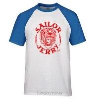 SAILOR JERRY Tattoo Tiger Bolt Logo Slim Fit Silver T Shirt S M L XL 2XL
