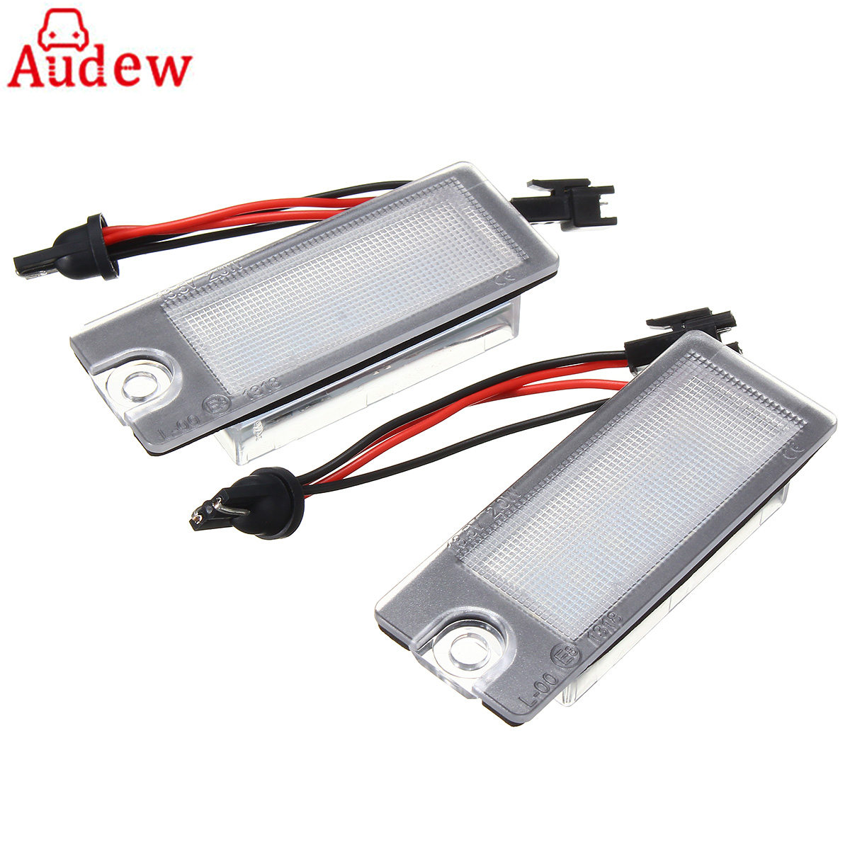 2Pcs Car LED License Plate Light White Number Plate Lamp Error Free For Volvo S80 99-06 V70 XC70 S60 XC90 2x e marked obc error free 24 led white license number plate light lamp for bmw e81 e82 e90 e91 e92 e93 e60 e61 e39 x1 e84