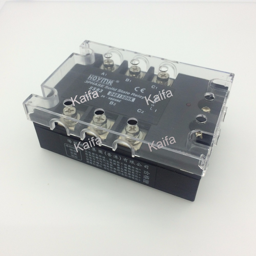 цена на wholesale genuine Solid State Relay SSR3-D48150HK 150A 24-480VAC