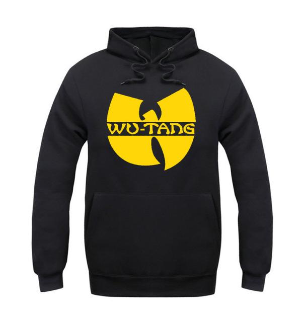 Primavera 2016 Moda Otoño e Invierno Wu Tang ClanHoodies MenCasual Batman Hip Hop Sudaderas Hombre Chándales Outwear