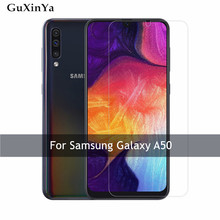 2pcs Tempered Glass For Samsung Galaxy A50 Screen Protector 9H Front Anti-scratch Protective A505F