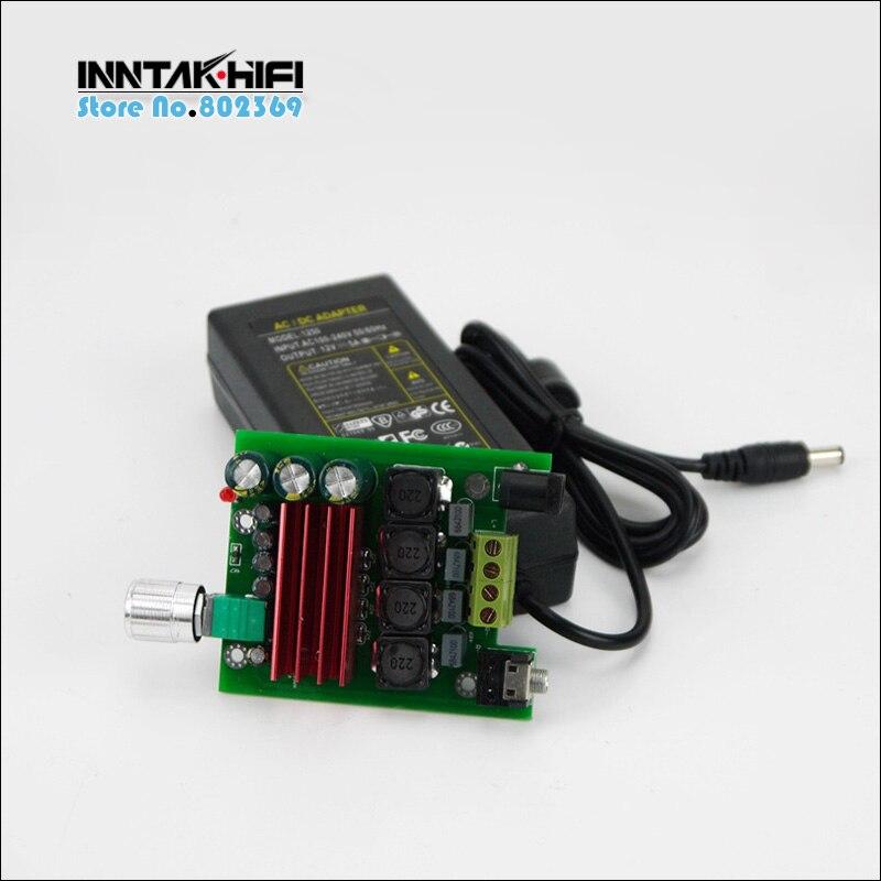 HIFI TPA3116 2.0 50W+50W Stereo Digital Power Amplifier  W DC12V Power Supply