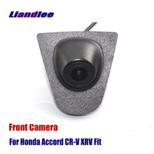 Liandlee Car Front View Camera AUTO CAM With Big Logo Embedded For Honda Accord CR-V ( Not Reverse Rear Parking Camera ) reina del norte кукла paola reina элина 32 см