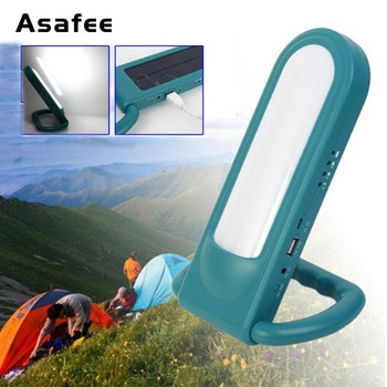 Multifunctional Solar Lamp Waterproof USB Charge Solar Panel Portable Lanterns 12LED Mini Handheld Emergency Camping Light фото