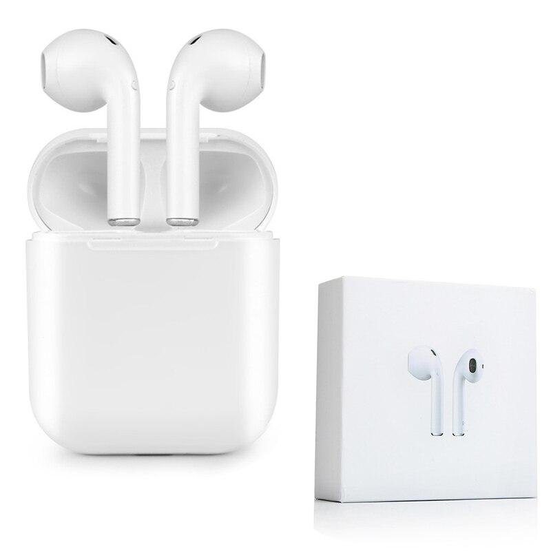 Los IFANS nuevo I9 Mini Bluetooth doble auriculares auricular inalámbrico aire vainas auriculares con micrófono para IPhone 8 7 más 6 s Android