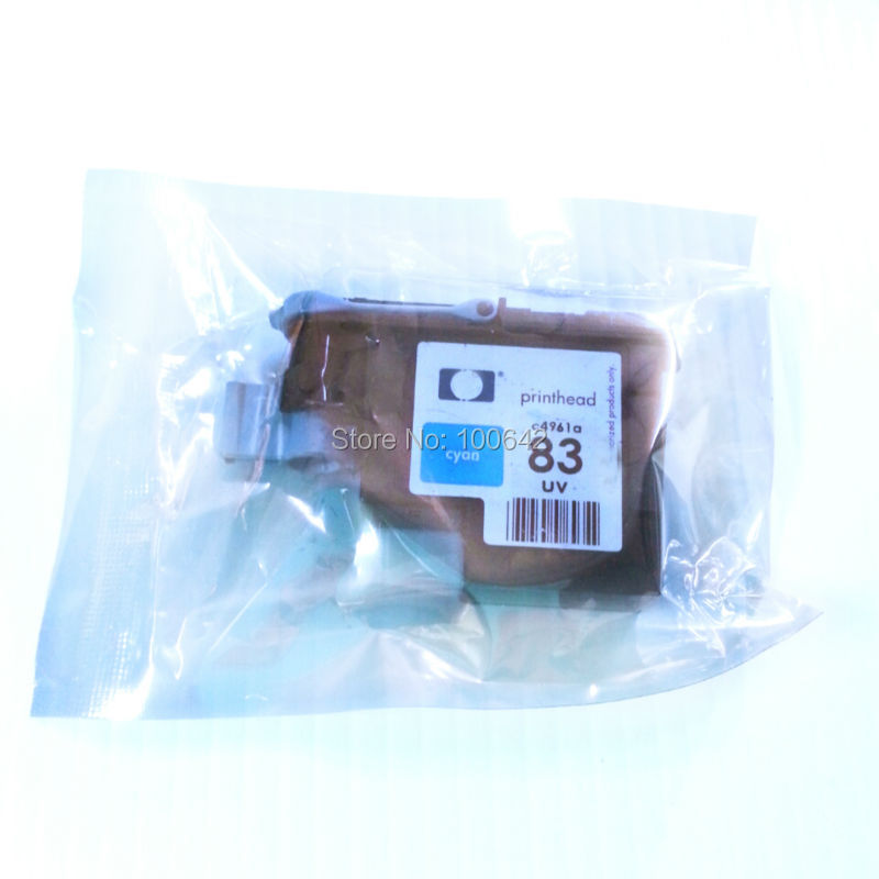 1 pieces Cyan 83 Printhead for HP Designjet 5000 5000ps 5500 5500ps Remanufactured printer head for HP 83 HP83