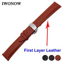 Cowhide Genuine Leather Watch Band 18mm 20mm 22mm for Fossil