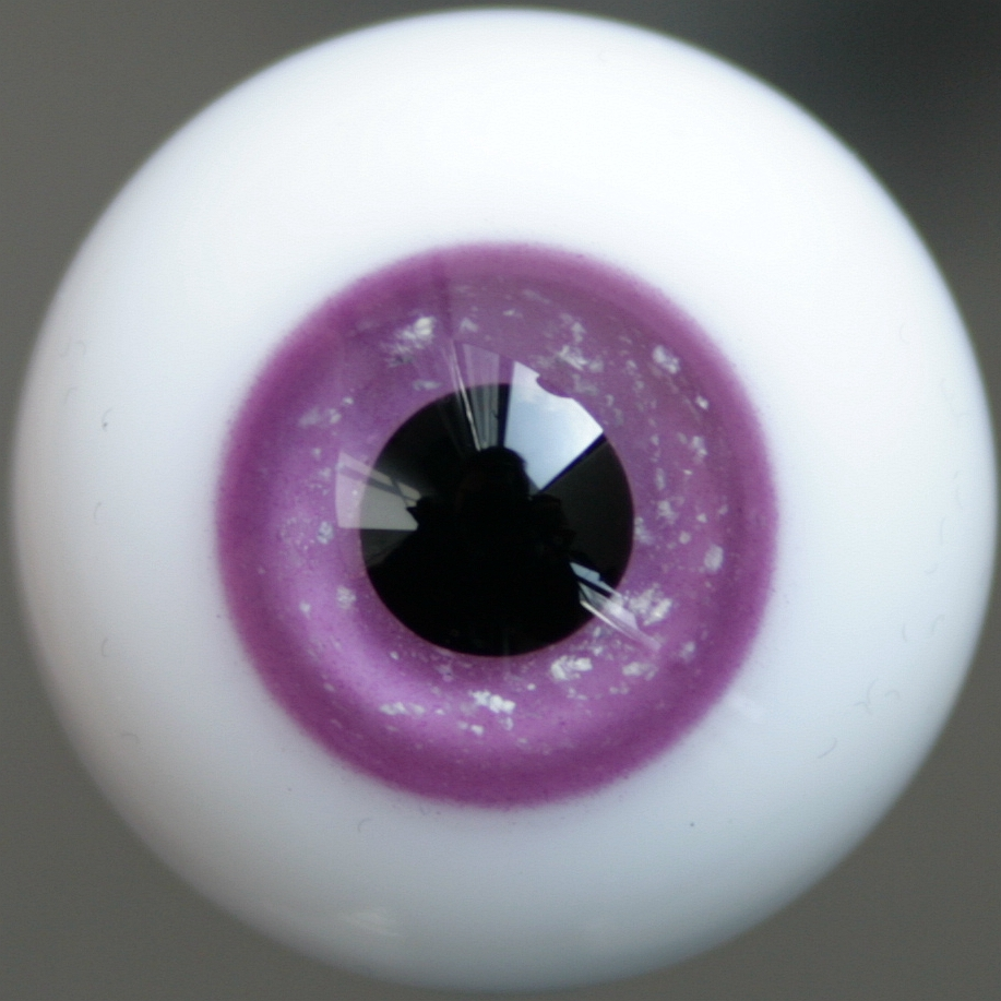for DOD DZ 1//6 BJD Doll Blue Iris/&Black Pupil Nice 10mm  Glass BJD Eyes