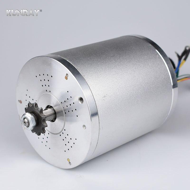 1500 W BLDC sin escobillas de Motor de 48 V Motor eléctrico de 1600 W eléctrico de mediados de coche de Motor eléctrico para bicicleta Scooter Kit motores accesorios